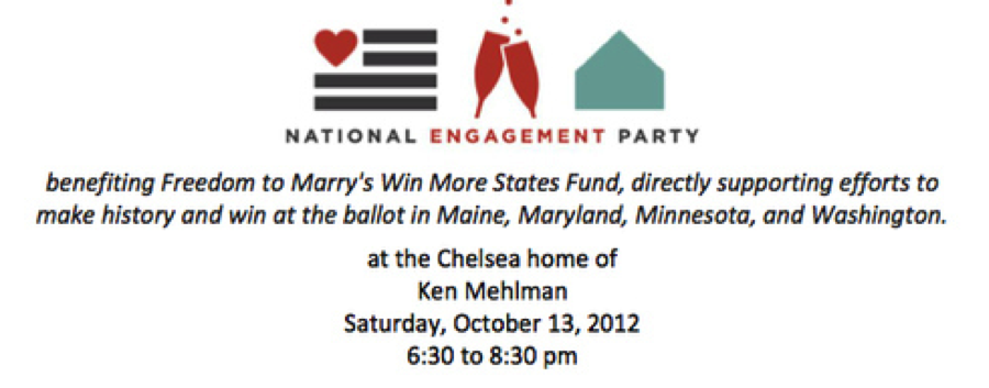 Ken Mehlman Hosts Freedom to Marry Event