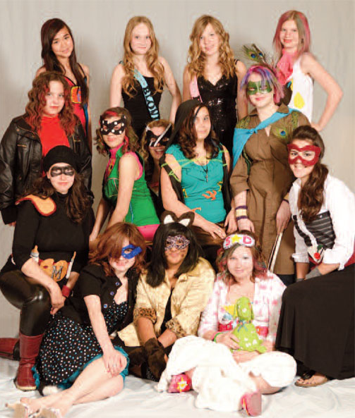 Why the Grrlz of Valley Gardens Middle School are Really, Really Rad