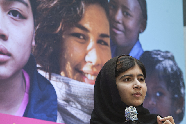 Leaders to an Equal World: Malala Yousafzai