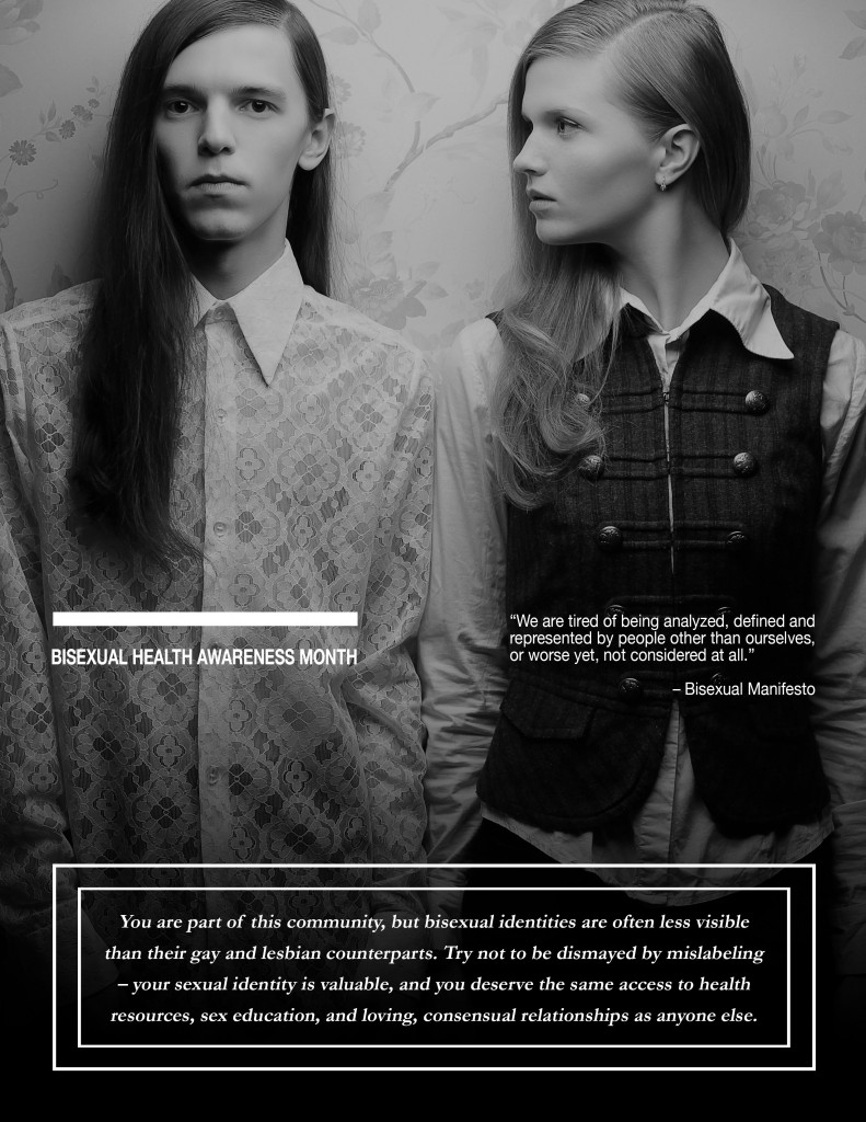 bisexual health awareness Photographic 2: Augustino via Shutterstock