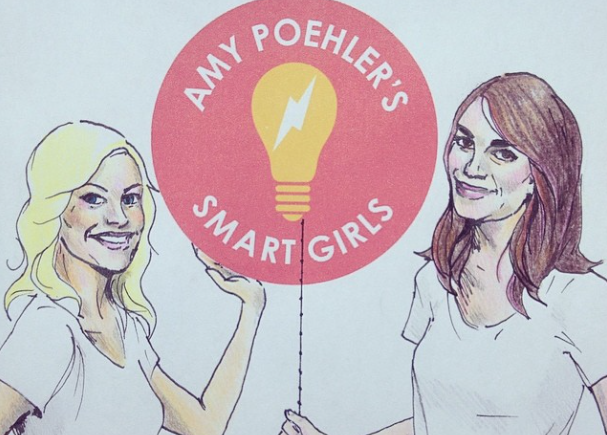 Amy Poehler's Smart Girls artwork showing logo