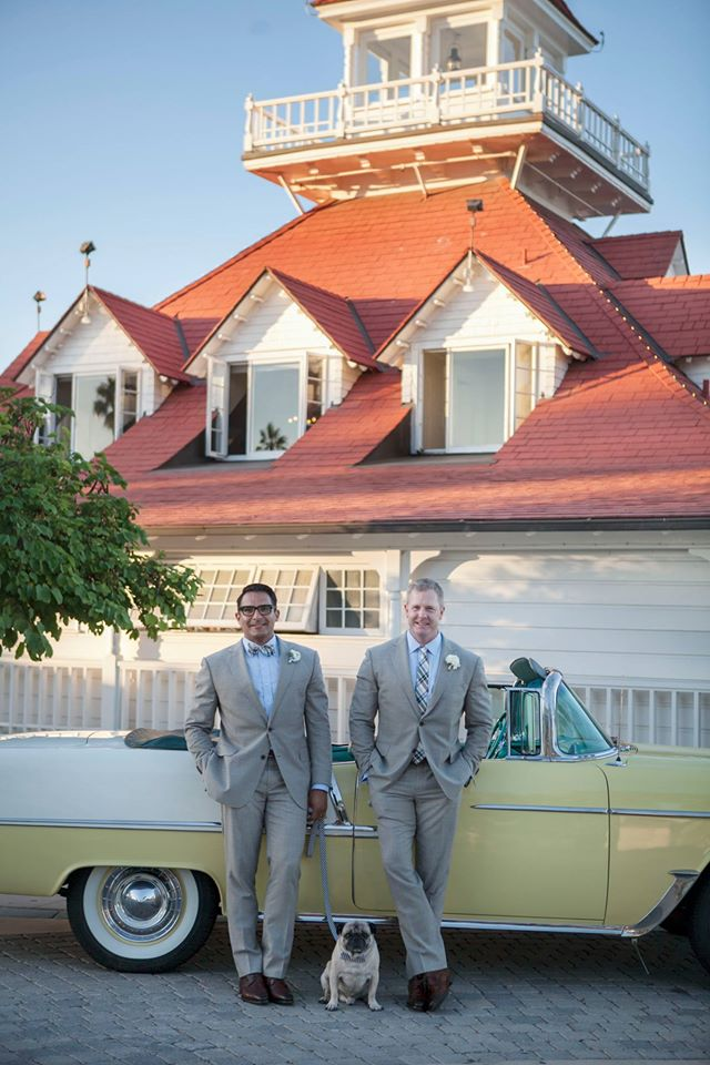 gay couple weds in california