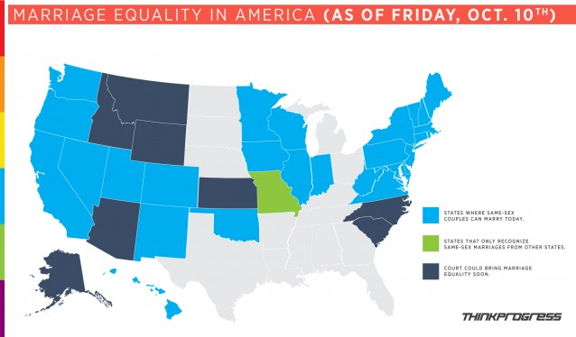Marriage Equality in the US: A State-By-State Breakdown