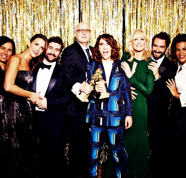 Jill Soloway and Transparent cast