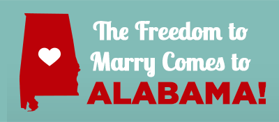 Same-Sex Marriage is Now Legal in Alabama