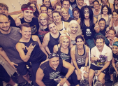 Lady Gaga cycles for charity