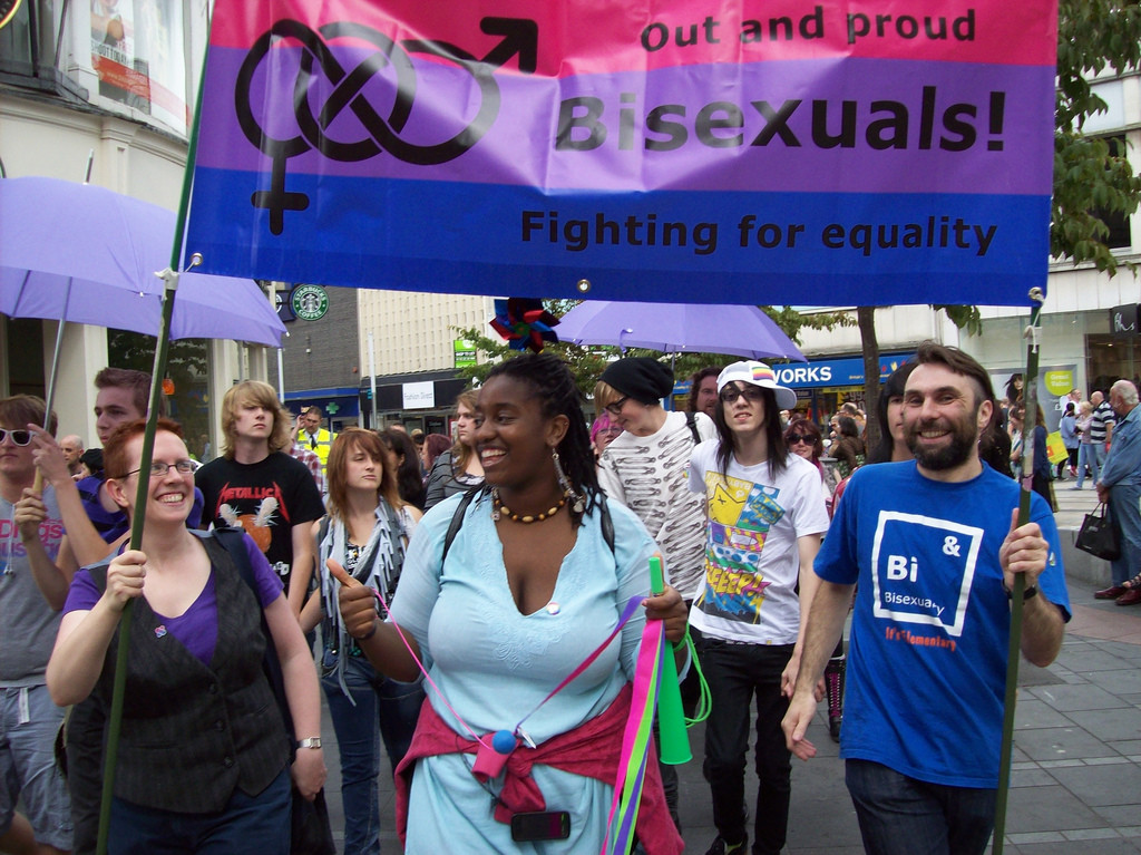 Bisexuals must be empowered to determine their own sexuality and their own experience of sexual attraction.
