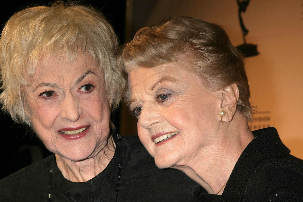 A photo of Bea Arthur and Angela Lansbury.