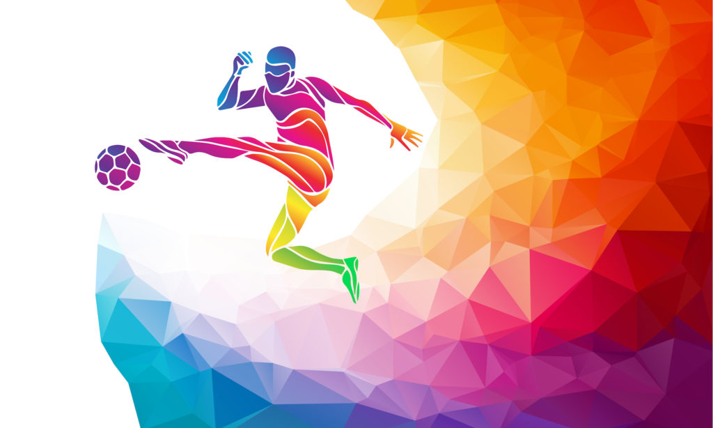 Fondos De Pantalla Fútbol Pelota Silueta Deporte: One Equal World