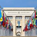 The U.N. building located in Geneva.