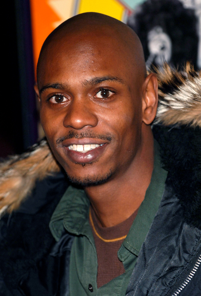 A photo of comedian Dave Chappelle.