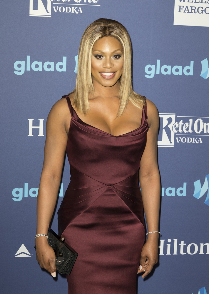 A picture of transgender actress Laverne Cox.