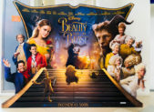 Promotional poster for Disney's new Beauty and the Beast live-action film.