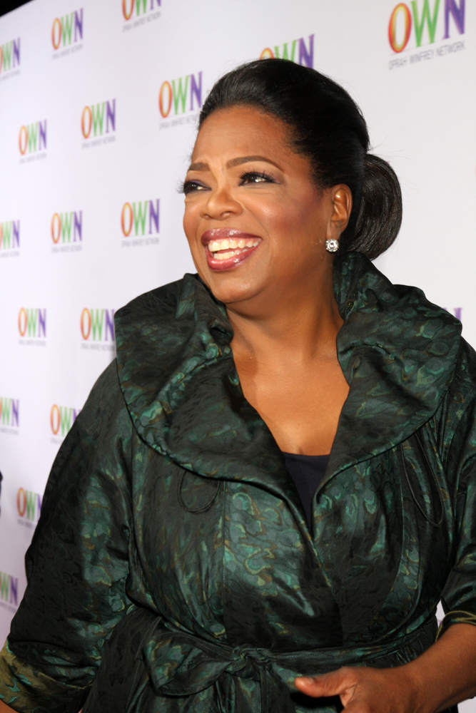 A photo of Oprah Winfrey.