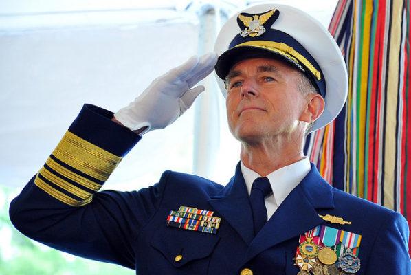 A photo of Admiral Paul Zukunft of the U.S. Coast Guard.