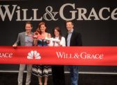 "The cast of ""Will & Grace"" kick off the 2017 season at Universal Studios."