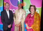 A photo of Prince Manvendra Singh Gohil during a visit to Sydney, Australia in 2009.