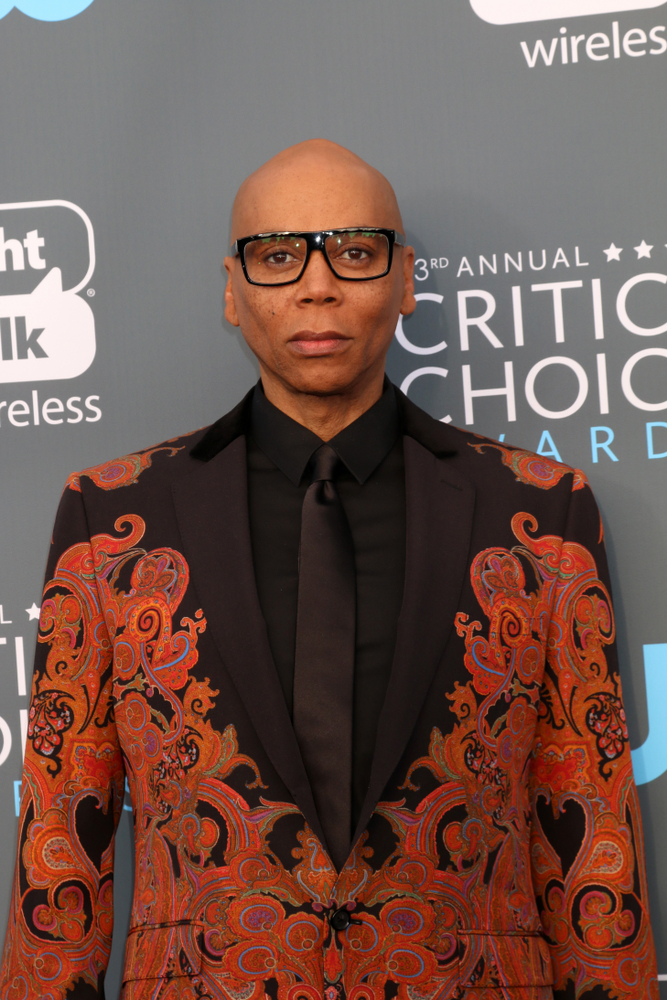 A photo of RuPaul.