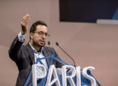 A photo of Mounir Mahjoubi, France's Secretary of State for Digital Affairs.