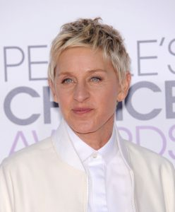 A photo of Ellen DeGeneres.