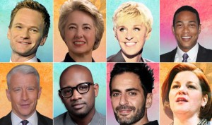Power list featuring Evan Wolfson, Jane Lynch, Ken Mehlman