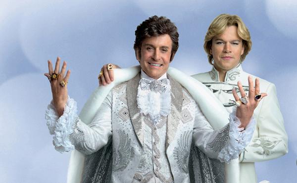 "Michael Douglas and Matt Damon star in ""Behind the Candelabra"""