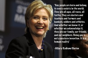 Hillary Clinton LGBT quote