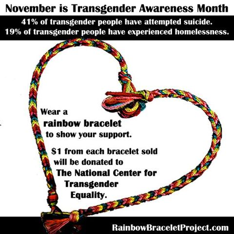 This Month, Get Informed and Get Active for Transgender Awareness