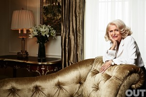 Marriage Equality OUT 100: Edie Windsor, DOMA victor.