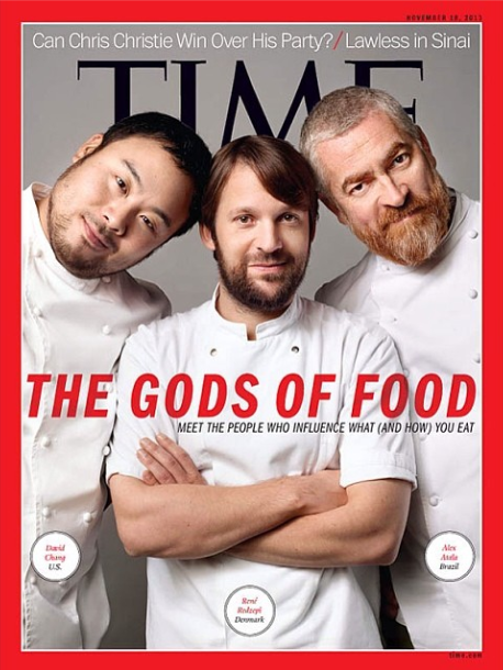 TIME Serves Up Gender Inequality in its 'Gods of Food' Issue