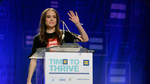 Ellen Page Comes Out on Valentine's Day, The World Swoons