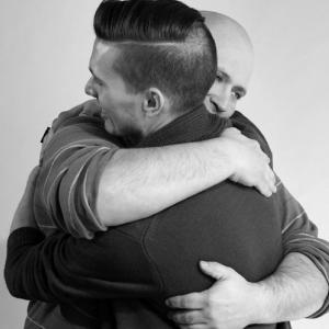 first gay hug