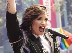 Demi Lovato LA Pride