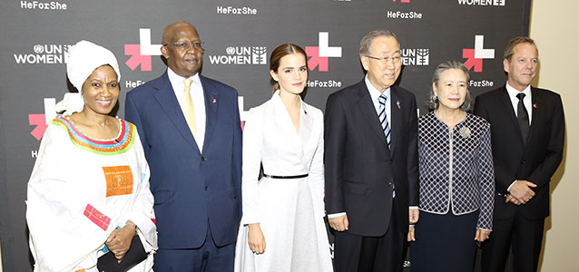 Emma Watson Delivers Inspired Speech at the United Nations