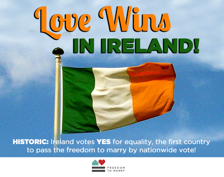 Ireland Says Yes to Marriage Equality