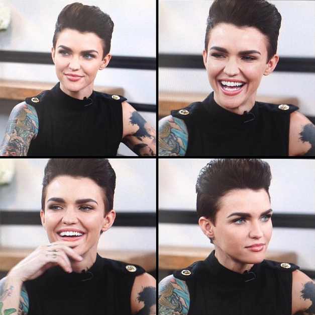 Ruby Rose on Gender Fluidity