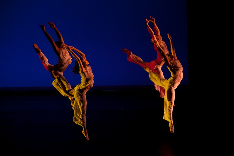 Dance Now! Miami recently performed choreographer Edward Stierle's moving Lacrymosa. Stierle choreographed the piece when he was 19 died at 23. The Joffrey Ballet premiered it 20 years ago.
