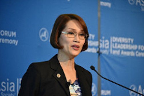 A photo of Filipino Congresswoman Geraldine Roman.