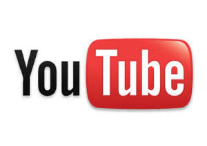 YouTube's logo.