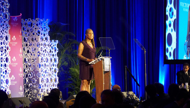 A photo of Andrea Jenkins, a black trans woman.