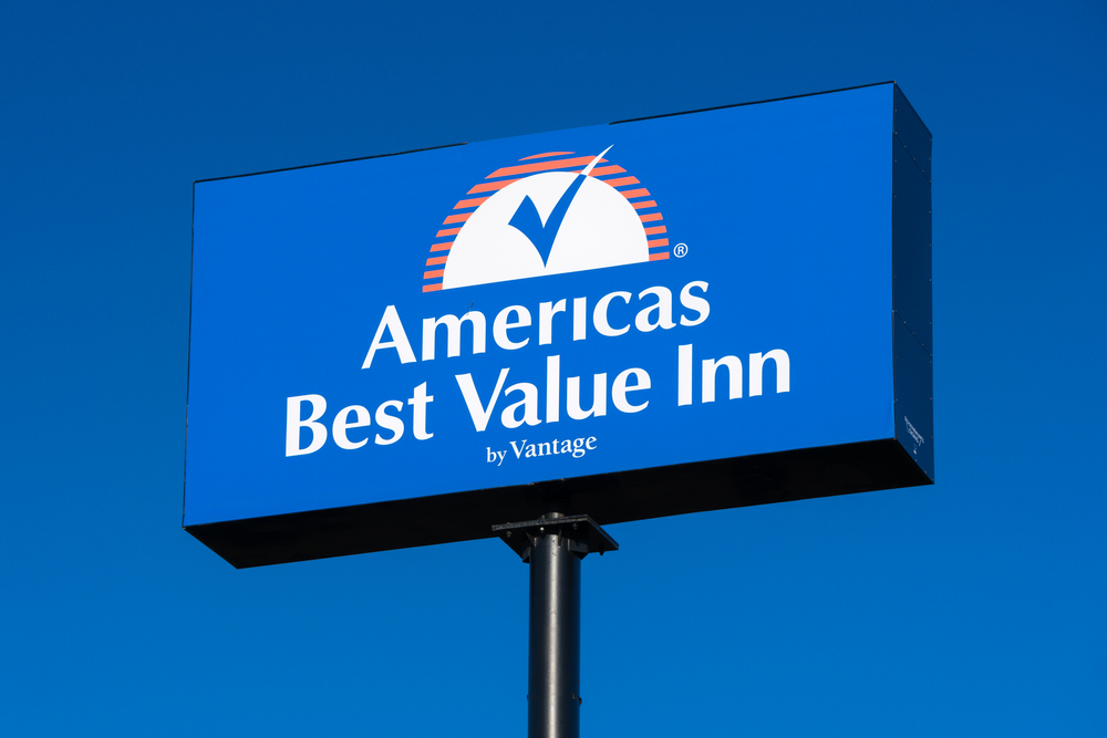 A sign for America's Best Value Inn.