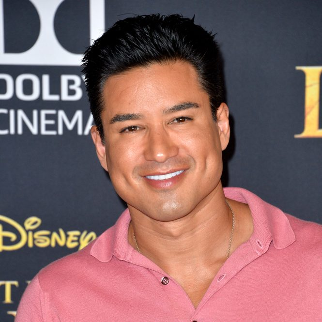 "Access Hollywood host Mario Lopez at the 2019 world premiere of Disney's ""The Lion King."""