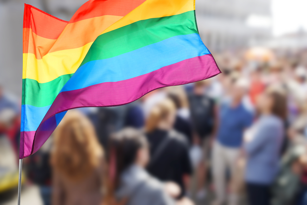 LGBTQ flag image
