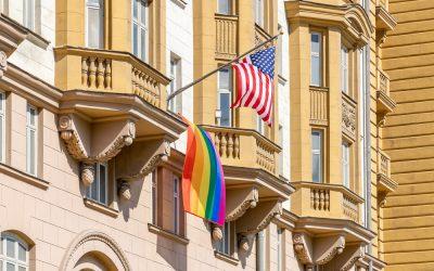 Moscow U.S. Embassy Raises Pride Flag Despite Trump Ban